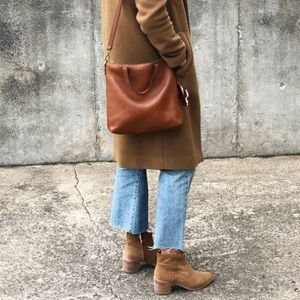 Madewell Lonnie Suede Boots Bootie